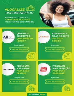 Ofertas Viagens, Turismo e Lazer no catálogo Localiza em Carapicuíba ( 27 dias mais )