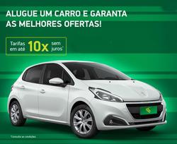 Promoção de Viagens, passeios, turismo no folheto de Localiza em Lauro de Freitas