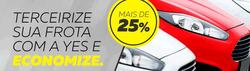 Promoção de Yes Aluguel de Carros no folheto de Manaus