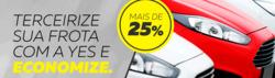 Promoção de Yes Aluguel de Carros no folheto de Brasília