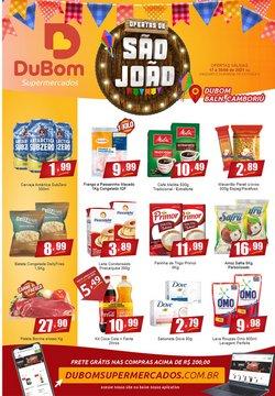Ofertas de Supermercados no catálogo Dubom Supermercados (  Válido até amanhã)