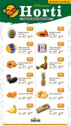 Ofertas de Supermercados no catálogo Mercadinhos São Luiz (  Válido até amanhã)