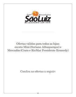 Catálogo Mercadinhos São Luiz (  6 dias mais)