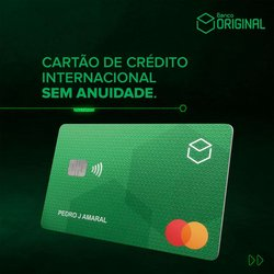 Ofertas Bancos e Serviços no catálogo Banco Original em Aparecida de Goiânia ( Publicado ontem )