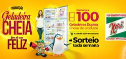 Promoção de Supermercados Nori no folheto de Batatais