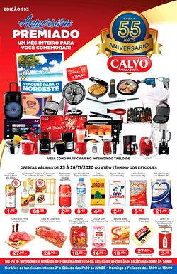 Catálogo Calvo Atacadista em São Paulo ( Válido até amanhã )