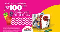 Promoção de Bancos e Serviços no folheto de CNA em Raul Soares