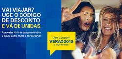 Promoção de Unidas Rent a Car no folheto de São Paulo