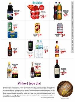 Promoção de Suco de uva no folheto de Bistek Supermercados em Joinville
