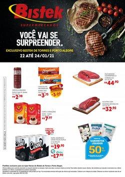 Ofertas Supermercados no catálogo Bistek Supermercados em Gravataí ( Vence hoje )