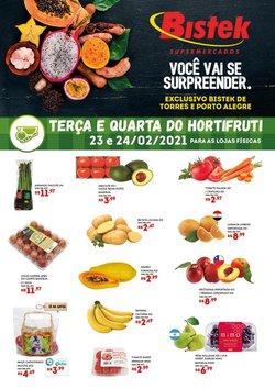 Ofertas Supermercados no catálogo Bistek Supermercados em Porto Alegre ( Vence hoje )