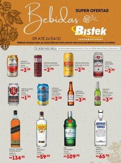 Catálogo Bistek Supermercados em Joinville ( Vence hoje )