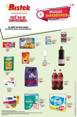 Catálogo Bistek Supermercados ( Válido até amanhã )
