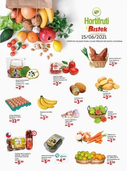 Ofertas de Bistek Supermercados no catálogo Bistek Supermercados (  Vence hoje)