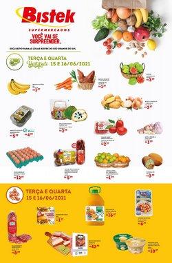 Ofertas de Supermercados no catálogo Bistek Supermercados (  2 dias mais)