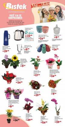 Ofertas de Supermercados no catálogo Bistek Supermercados (  Válido até amanhã)