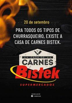 Ofertas de Bistek Supermercados no catálogo Bistek Supermercados (  2 dias mais)