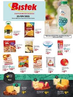 Ofertas de Supermercados no catálogo Bistek Supermercados (  Vence hoje)