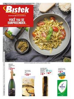 Ofertas de Supermercados no catálogo Bistek Supermercados (  5 dias mais)