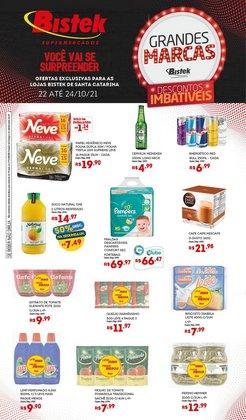 Ofertas de Supermercados no catálogo Bistek Supermercados (  Publicado hoje)