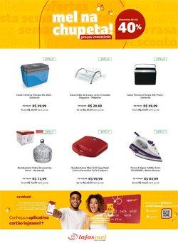 Ofertas de Lojas de Departamentos no catálogo Lojas Mel (  6 dias mais)