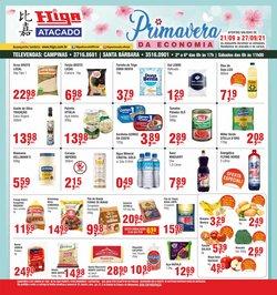 Ofertas de Supermercados no catálogo Higa Atacado (  Vence hoje)