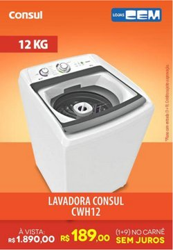 Ofertas de Consul no catálogo Lojas Cem (  3 dias mais)