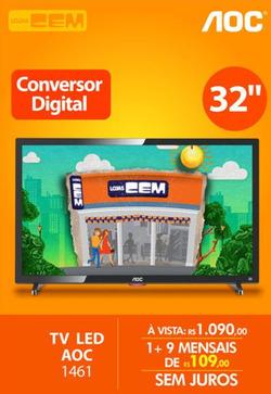 Promoção de Lojas Cem no folheto de Limeira