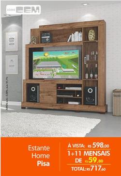 Promoção de Lojas Cem no folheto de Niterói