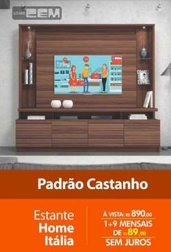 Promoção de Lojas Cem no folheto de São Carlos