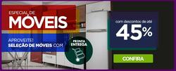 Promoção de Casas Bahia no folheto de Ubá