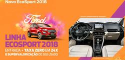 Promoção de América Ford no folheto de Recife