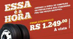 Promoção de Firestone no folheto de Curitiba