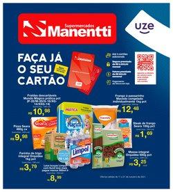 Ofertas de Supermercados no catálogo Supermercados Manentti (  10 dias mais)