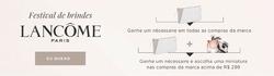 Promoção de The Beauty Box no folheto de São Paulo