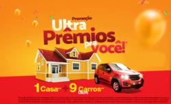 Promoção de Drogarias Ultra Popular no folheto de Uberlândia
