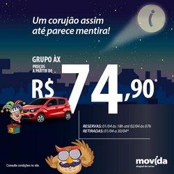Ofertas Viagens, Turismo e Lazer no catálogo Movida em Rio de Janeiro ( Publicado a 2 dias )