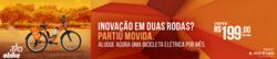 Promoção de Viagens, passeios, turismo no folheto de Movida em Salvador