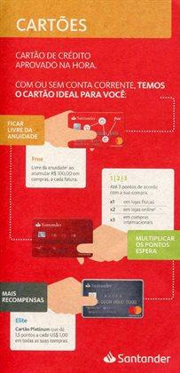 Ofertas Bancos e Serviços no catálogo Santander em Belo Horizonte ( 6 dias mais )
