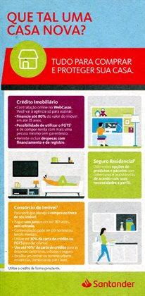 Ofertas Bancos e Serviços no catálogo Santander em Carapicuíba ( 4 dias mais )