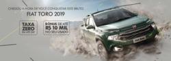 Promoção de Automóveis no folheto de Fiat em Teófilo Otoni