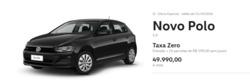 Promoção de Automóveis no folheto de Volkswagen em Arapiraca