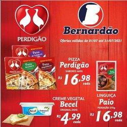 Ofertas de Supermercado Bernardão no catálogo Supermercado Bernardão (  6 dias mais)