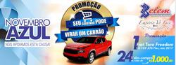 Promoção de Belem Supermercados no folheto de São Bento do Sul