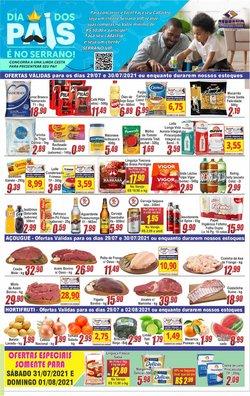 Ofertas de Supermercados no catálogo Serrano Supermercado (  Vence hoje)