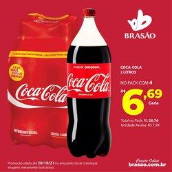 Ofertas de Brasão Supermercados no catálogo Brasão Supermercados (  2 dias mais)