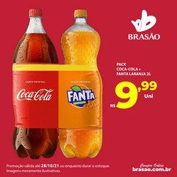 Ofertas de Brasão Supermercados no catálogo Brasão Supermercados (  Publicado ontem)