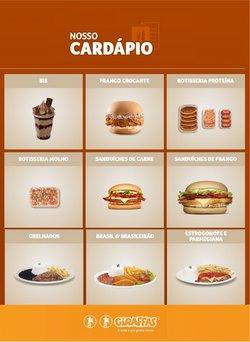 Ofertas Restaurantes no catálogo Giraffas em Nova Friburgo ( 25 dias mais )