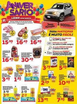 Ofertas de Supermercados no catálogo Líder Supermercados (  Vence hoje)