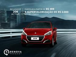 Promoção de Peugeot no folheto de São Paulo